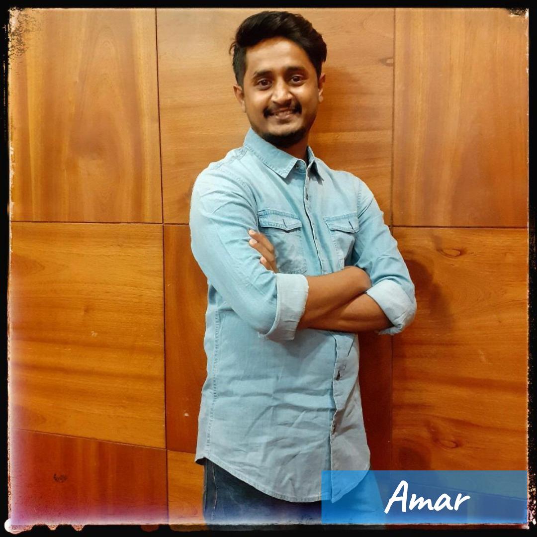 Our Team- Amar
