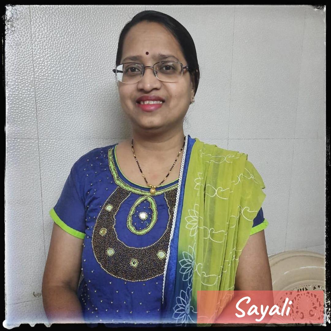 Our Team- Sayali