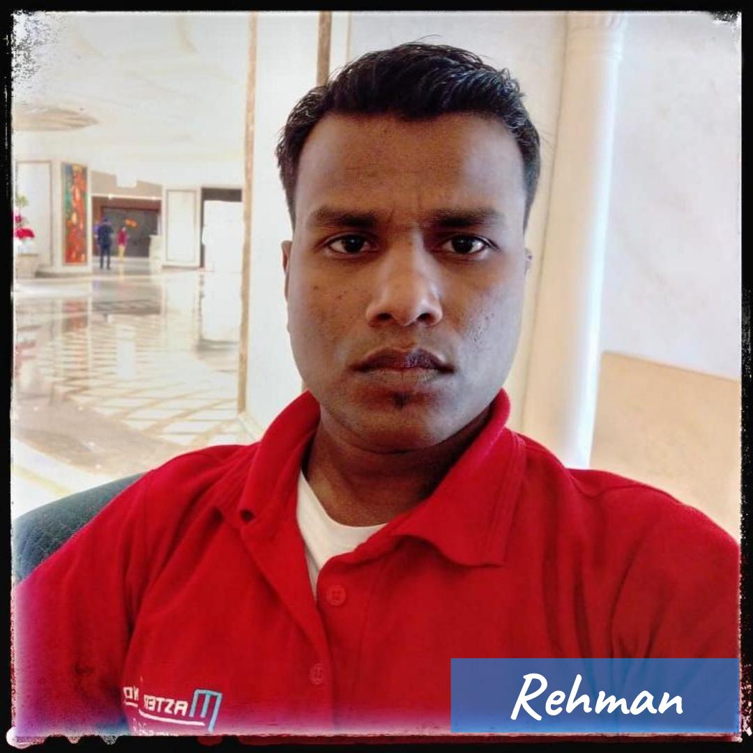 Our Team- Rehman