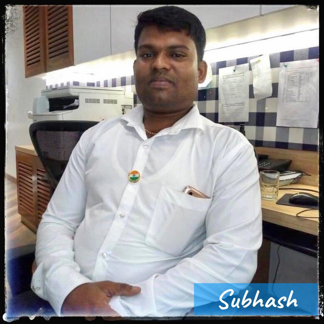 Our Team- Subhash
