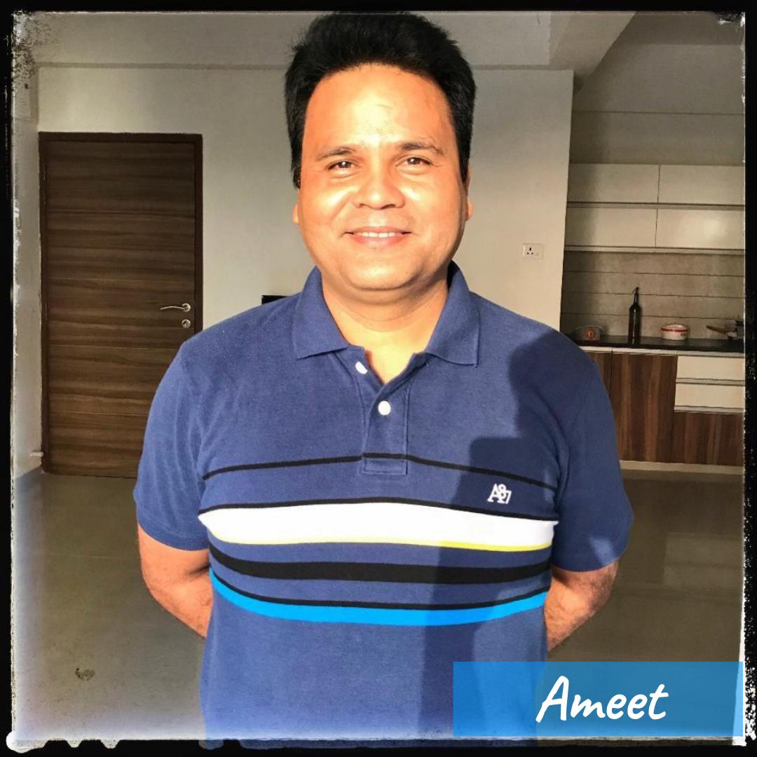 Our Team- Ameet