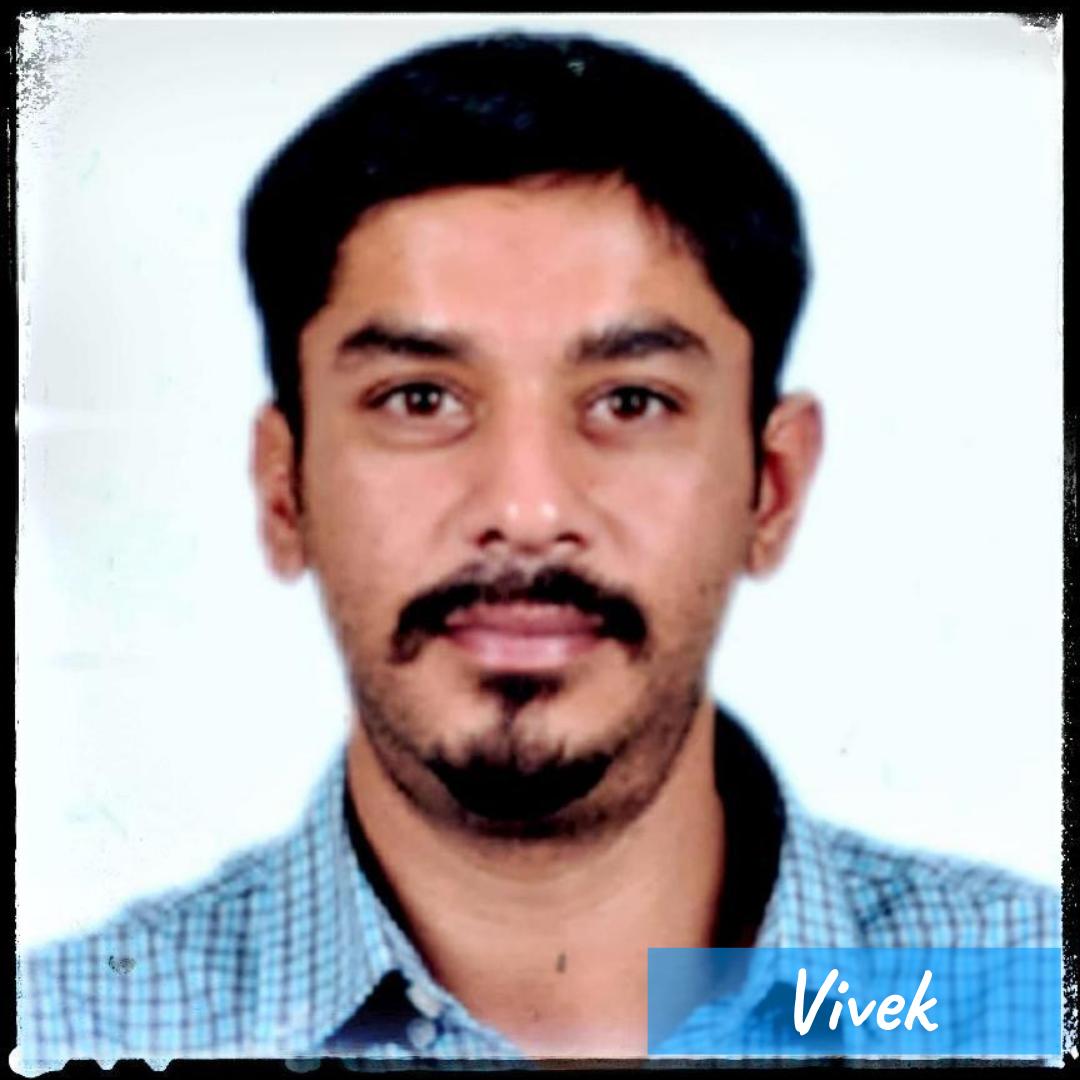 Our Team- Vivek
